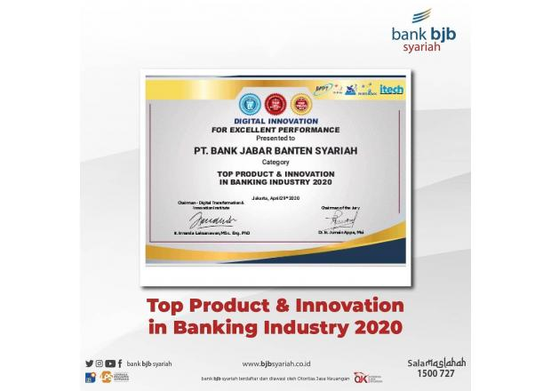 TOP PRODUCT & INNOVATION in BANKING INDUSTRY 2020